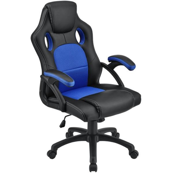 Racing Schreibtischstuhl Montreal (Blau)