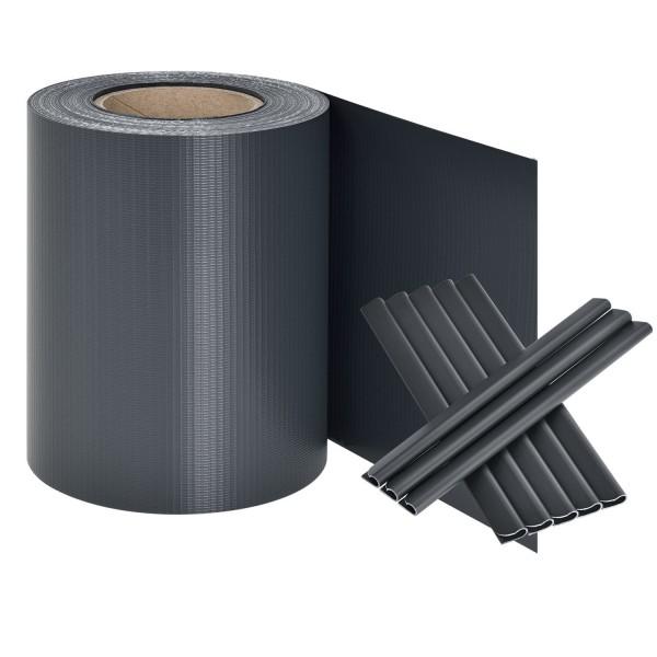 PVC Sichtschutzstreifen - anthrazit