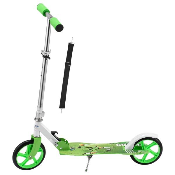 """Scooter / Cityroller """"Soccer"""" grün"""