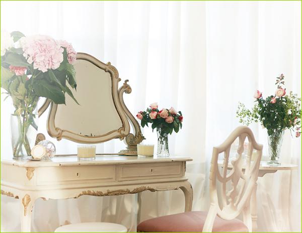 schminktisch mit spiegel hocker g nstig kaufen juskys. Black Bedroom Furniture Sets. Home Design Ideas