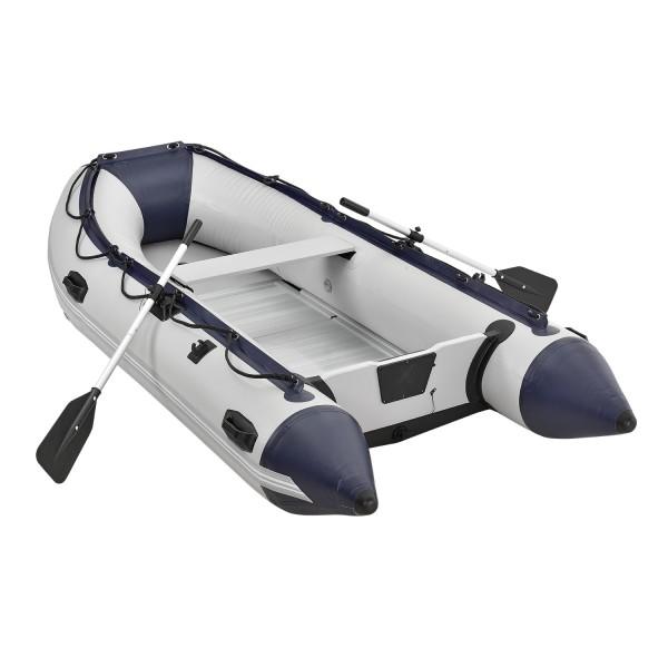 Schlauchboot Paddelboot grau mit Aluboden - 3,20m