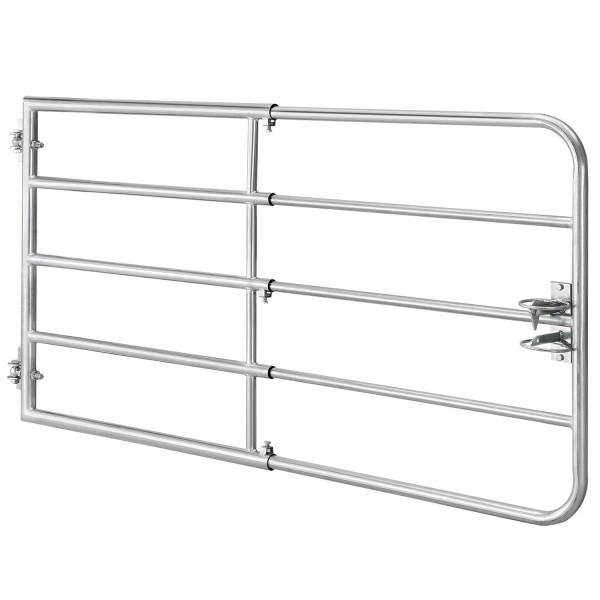 Weidezauntor SafeGate S aus verzinktem Stahl, Scharniere & Riegel - 170 x 90 cm