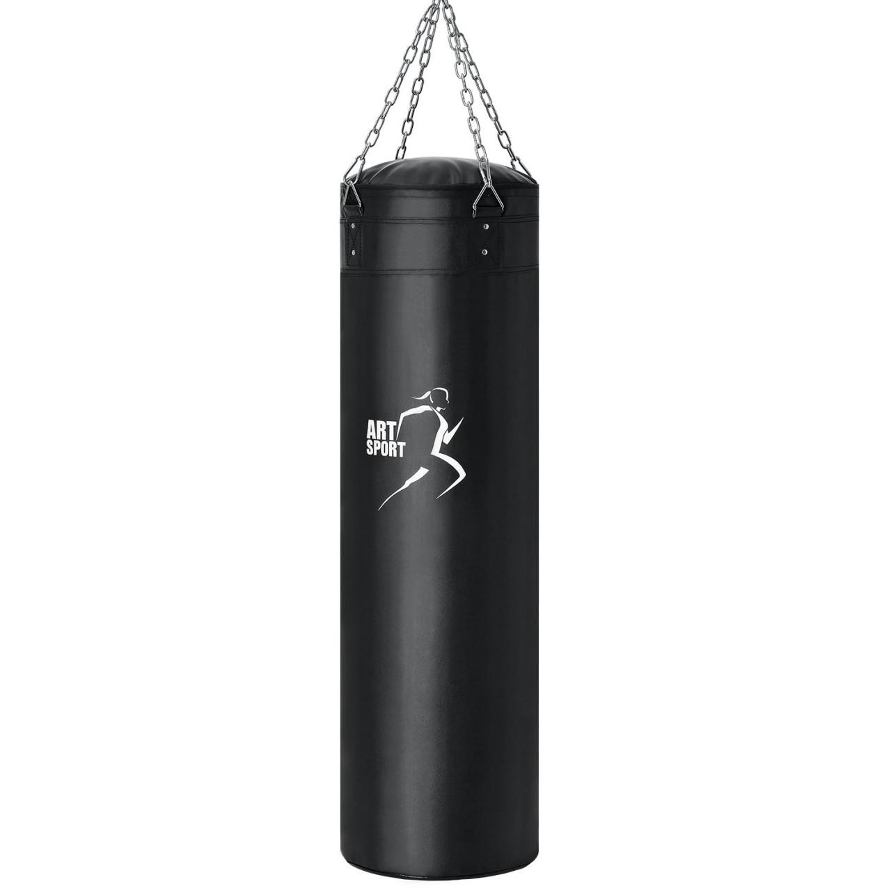 mmasport Kette f/ür Boxsack Training Muay Thai MMA komplett mit Karabinerhaken und Stahlkolben