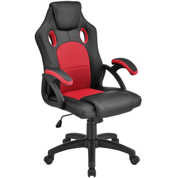 Racing Schreibtischstuhl Montreal (Rot)