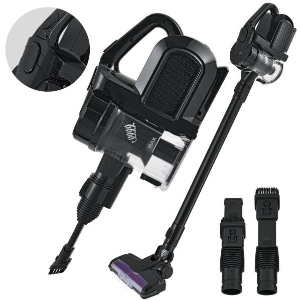 2in1 Akku-Handstaubsauger VAC100 Pro beutellos mit Wandladestation in schwarz