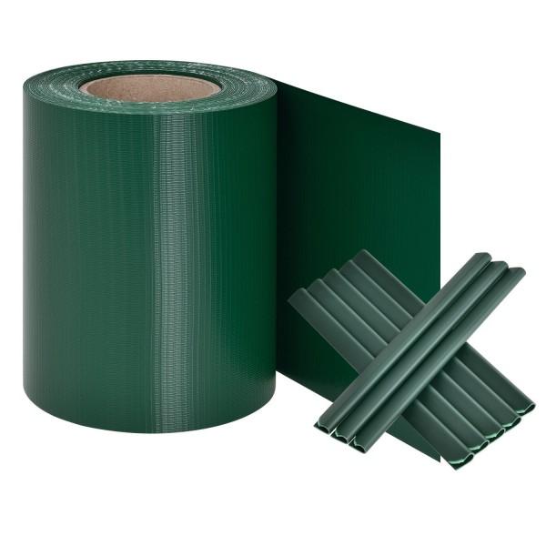 PVC Sichtschutzstreifen - Grün