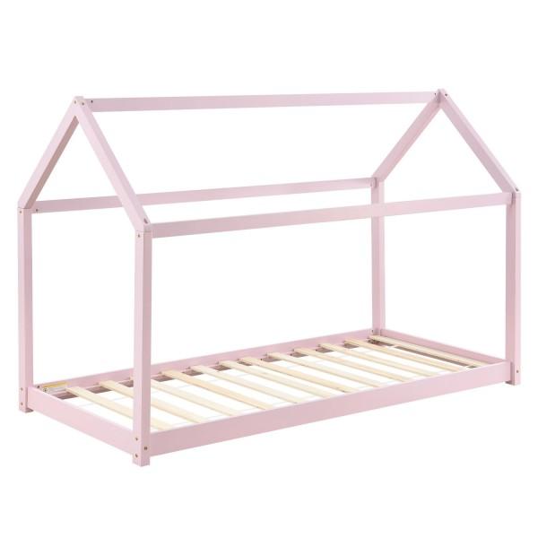 Kinderbett Carlotta 90 x 200 cm mit Lattenrost in rose