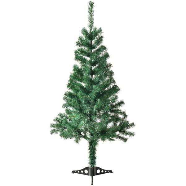 Künstlicher Weihnachtsbaum Tannenbaum 120 cm grün inkl. Ständer